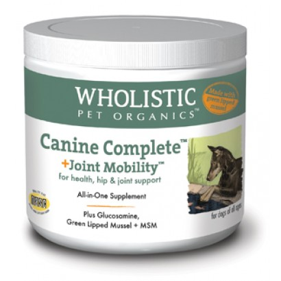 Wholistic Pet Organics STWP750G 1 lbs Canine Complete Joint Mobility with Green Lipped Mussel