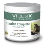 Wholistic Pet Organics STWP89 4 oz Canine Complete for Dogs