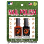 Wilco Capital WOBBBALNPS Baltimore Orioles Nail Polish