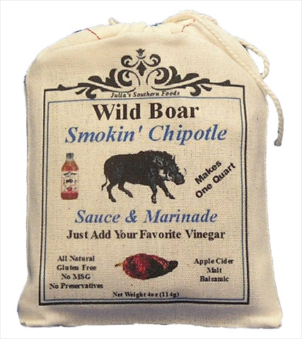 Wild Boar WB039 Wild Boar Sassy Chipotle Sauce 4oz Pack of 5