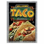 Williams Seasoning Taco-1.25 Oz -Pack Of 24