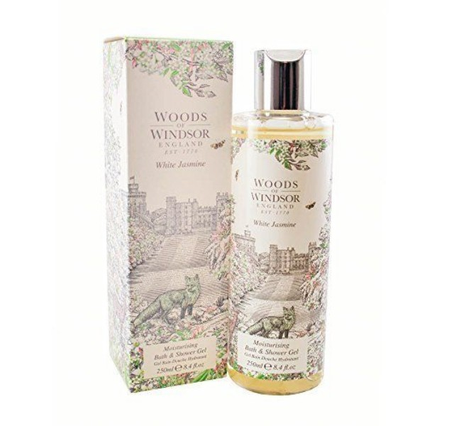 Woods Of Windsor awwowwj84sg Jasmin Moisturising Bath and Showe Gel for Women 8.4 oz. - White