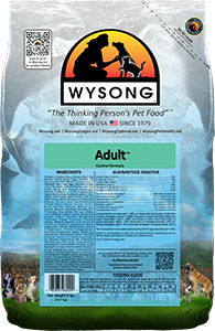 Wysong WY98000 Adult 5 lbs Pet Food Bag