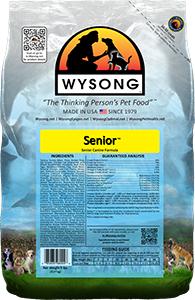 Wysong WY98004 Senior 5 lbs Pet Food Bag