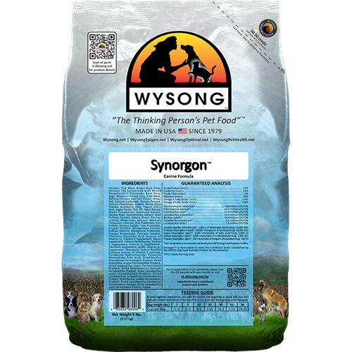 Wysong WY98006 Synorgon 5 lbs Pet Food Bag