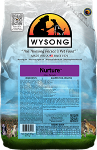 Wysong WY98102 Nuture 5 lbs Pet Food Bag