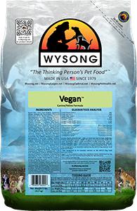 Wysong WY98202 Vegan 5 lbs Pet Food Bag