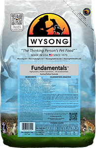 Wysong WY98204 Fundamentals 5 lbs Pet Food Bag