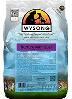 Wysong WY98206 Nuture with Quail 5 lbs Pet Food Bag