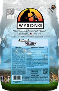 Wysong WY98404 Optimal Vitality 5 lbs Pet Food Bag