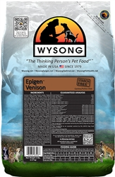 Wysong WY98506 Epigen Venison 5 lbs Pet Food Bag