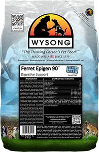Wysong WY98510 Ferret Epigen 90 Digestive Support 5 lbs Pet Food Bag