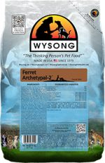 Wysong WY98514 Ferret Archetypal-2 5 lbs Pet Food Bag