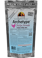 Wysong WY99008 Chicken Archetype 7.5 oz Pet Food Bag