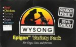 Wysong WY99512 Variety Pack Epigen 6-13 oz Pet Food Cans