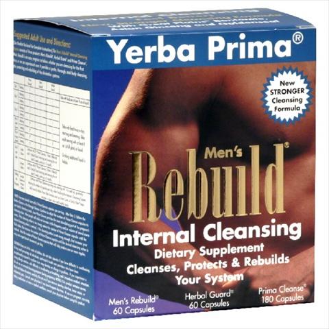 YERBA PRIMA CLEANSE MEN RENEW INTRNL-1 KT -Pack of 1