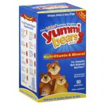 YUMMI BEARS MULTI VIT & MIN FF-90 PC -Pack of 1