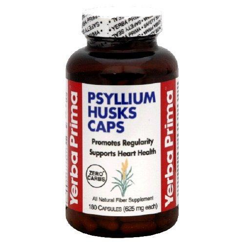 Yerba Prima 40710 Psyllium Husks Caps