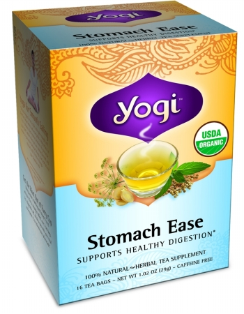 Yogi 27041 Organic Stomach Ease Tea