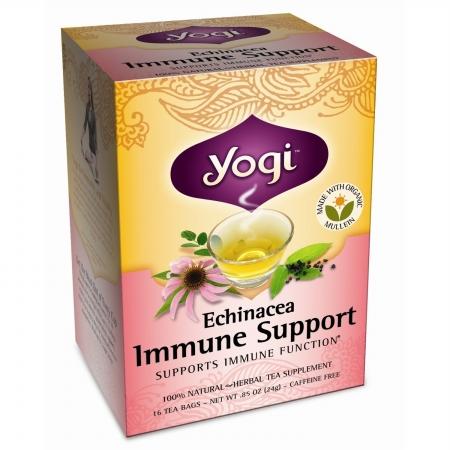 Yogi 27047 Organic Echinacea Immune Tea