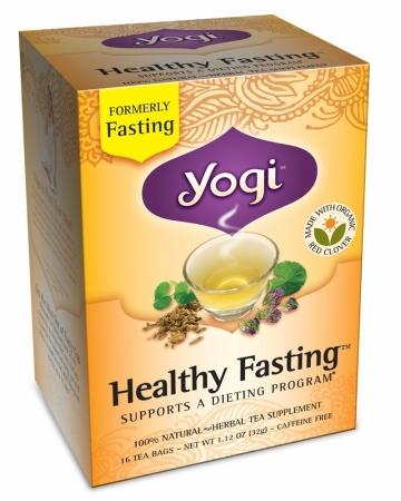 Yogi 27048 Organic Healthy Fasting Tea