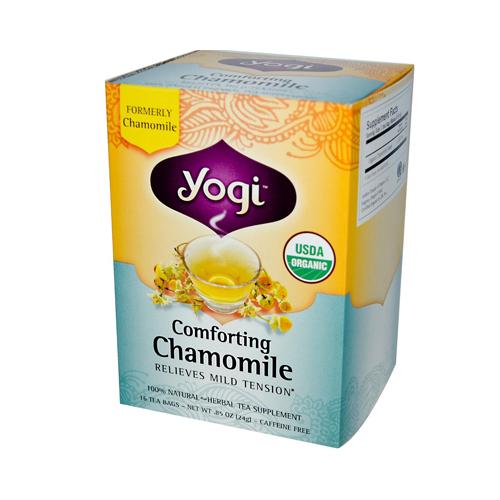 Yogi Organic Comforting Chamomile - 16 Tea Bags Case Of 6