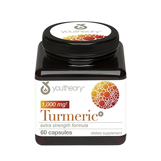 Youtheory 537714 Turmeric Extra Strength - 60 Count