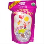 Yummy Earth Organic Vitamin C Pops - 3 Oz -Pack of 6