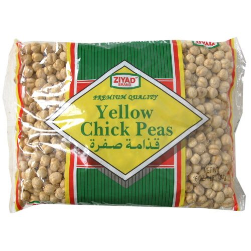 ZIYAD PEA CHICK YLLW RSTD-12 OZ -Pack of 6