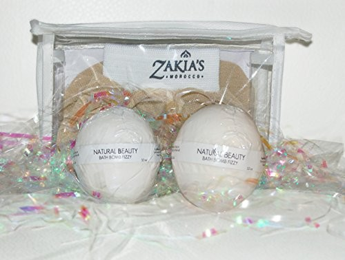Zakias Morocco BB-008 Bath Bomb Fizzies - Natural Beauty