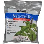 Zand Menthol Herbal Ozenge Soothing Menthol - 15 L Ozenges - -Pack of 12