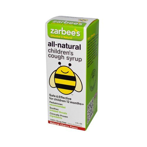Zarbees 0574335 Natural Cherry All-Natural Childrens Cough Syrup 12 4 oz