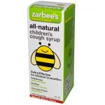Zarbees All-Natural Childrens Cough Syrup 12 Months+ - Natural Cherry Flavor - 4 oz