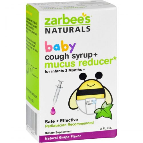 Zarbees ECW1689835 2 oz Cough Syrup & Mucus Reducer for Baby