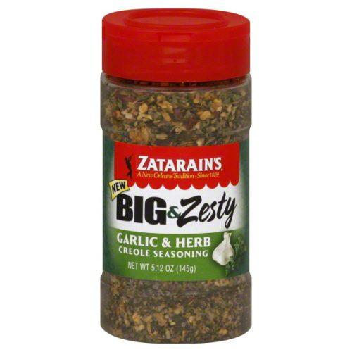 Zatarains Seasoning Grlc&Amp;Hrb Big&Amp;Zsty-5.12 Oz -Pack Of 6