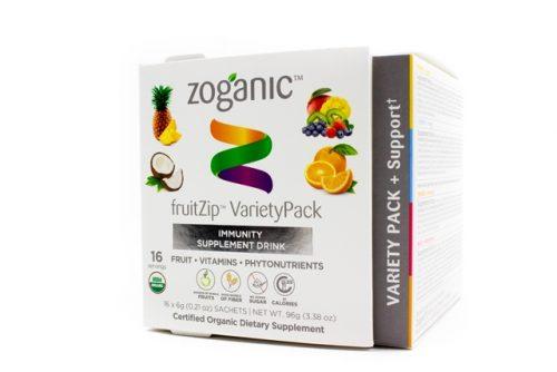 Zoganic fruitZip variety Supplement Drink - Variety 15 sachets