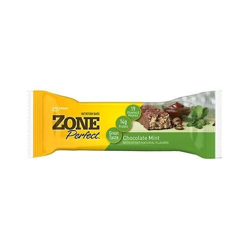 Zone 0128017 Chocolate Mint Nutrition Bar 1.76 oz - Case of 12