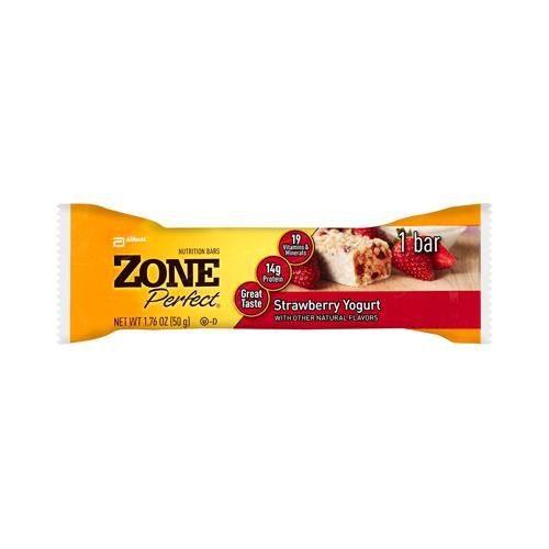 Zone 0904714 Strawberry Yogurt Nutrition Bar 1.76 oz - Case of 12