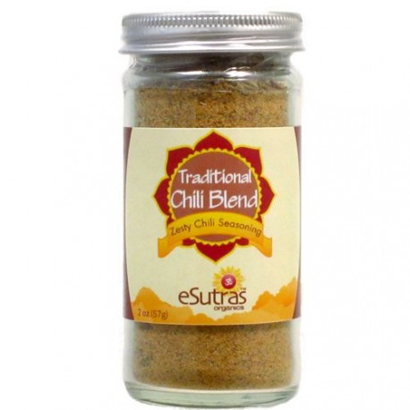 eSutras 111500 Traditional Chili Spice Blend