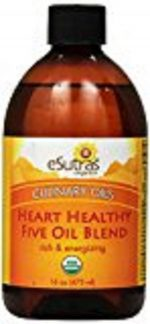eSutras 160300 Heart Healthy Organic Cooking Oil