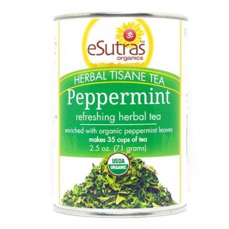eSutras 171900 Stimulating Peppermint Leaf Tea