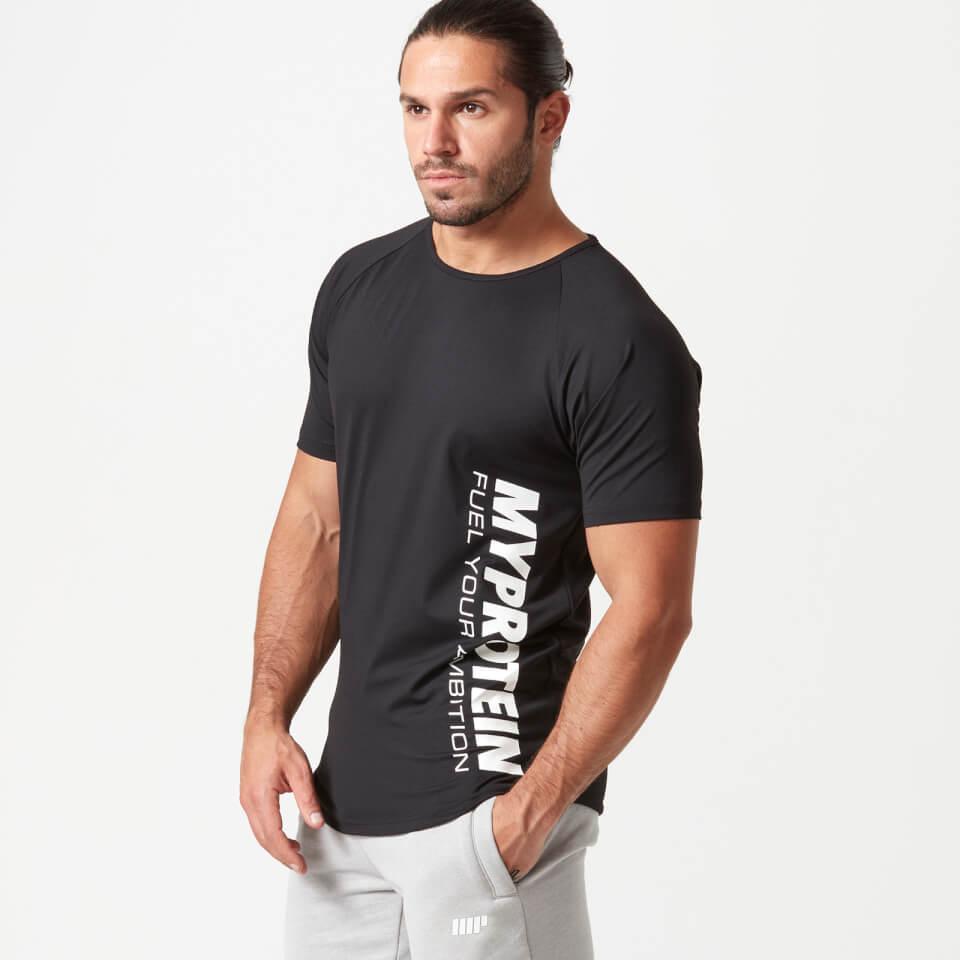 Bold Tech T-Shirt - Black - XXL