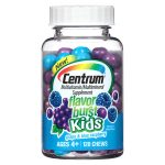 Centrum Kids Flavor Burst Multivitamin Chews Grape - 120 ea