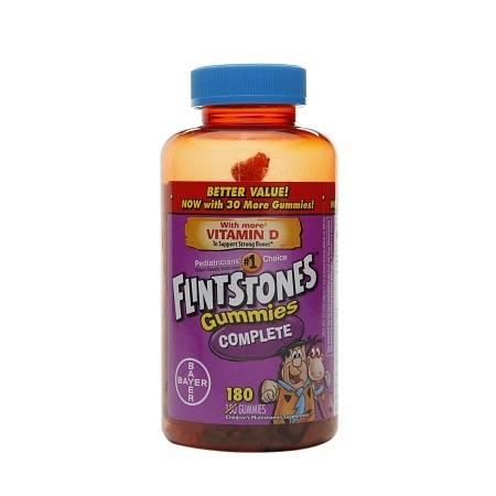 Flintstones Gummies Complete - 180 ea