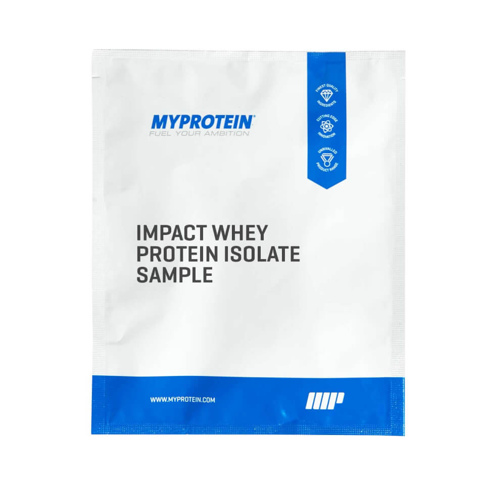 Impact Whey Isolate (Sample) - Salted Caramel - 0.9 Oz (USA)