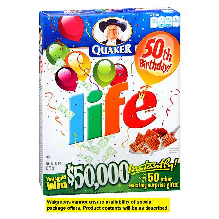 Life Cereal - 13 oz.