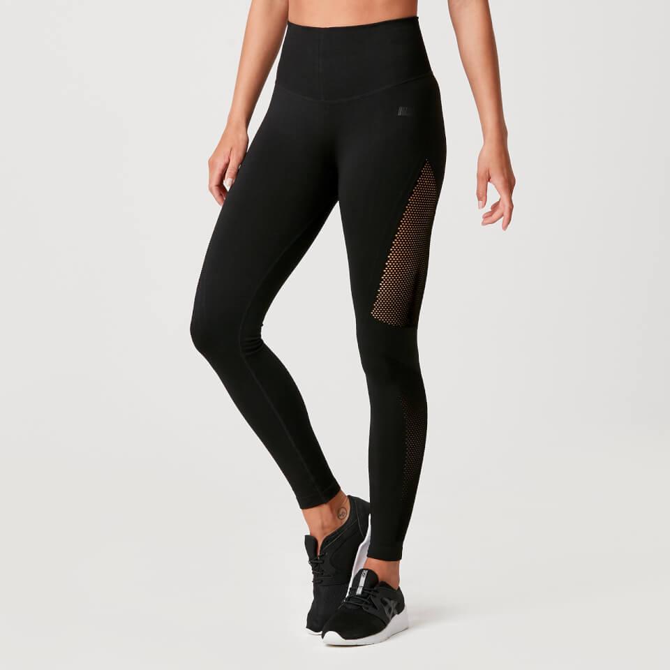 Luxe Seamless Leggings - Black - XL