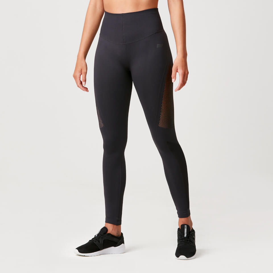 Luxe Seamless Leggings - Slate Grey - XL