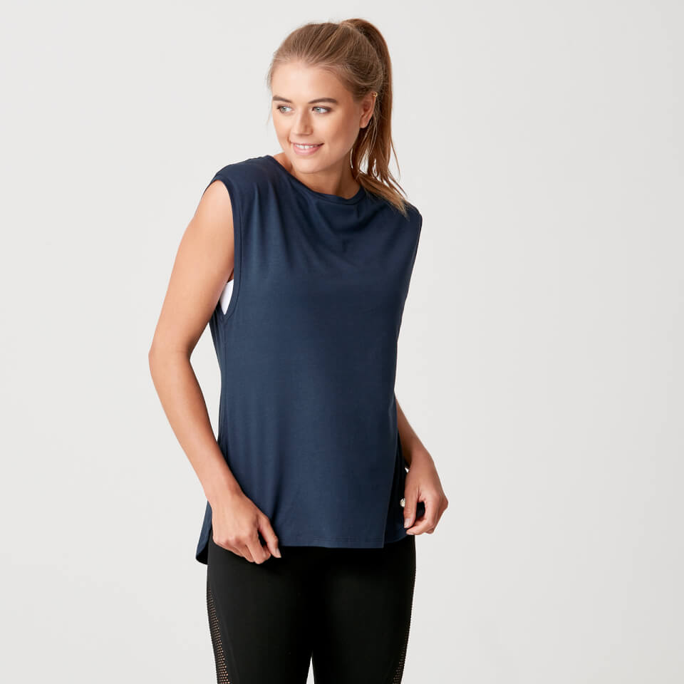 Luxe Touch Vest - Navy - S