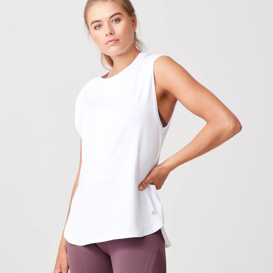 Luxe Touch Vest - White - XS